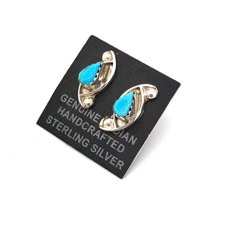 Turquoise Wind Studs