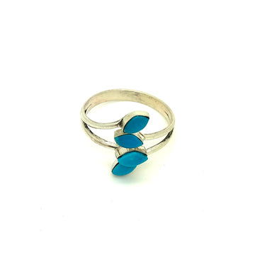 Turquoise Breeze Wrap Ring