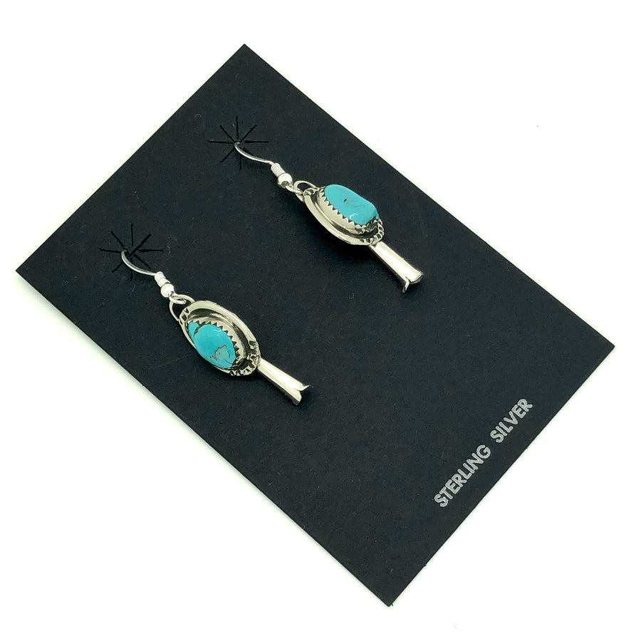 Turquoise Blossom Earring