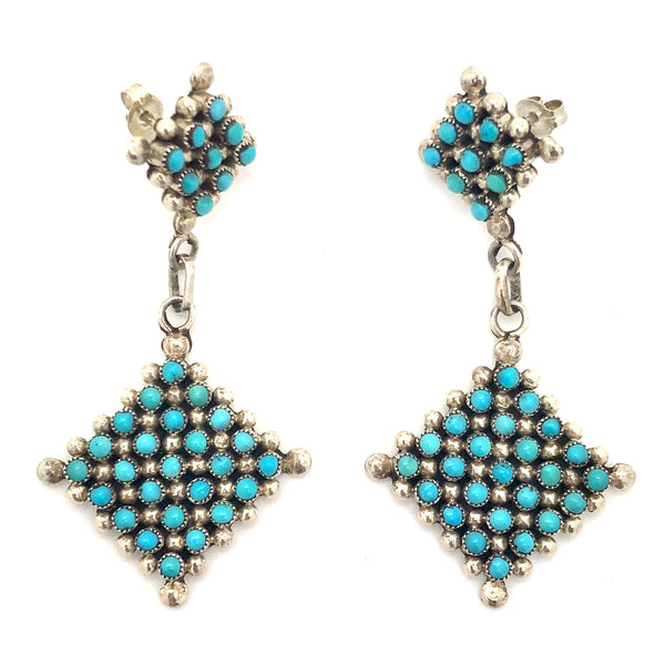 Petit Point Earrings