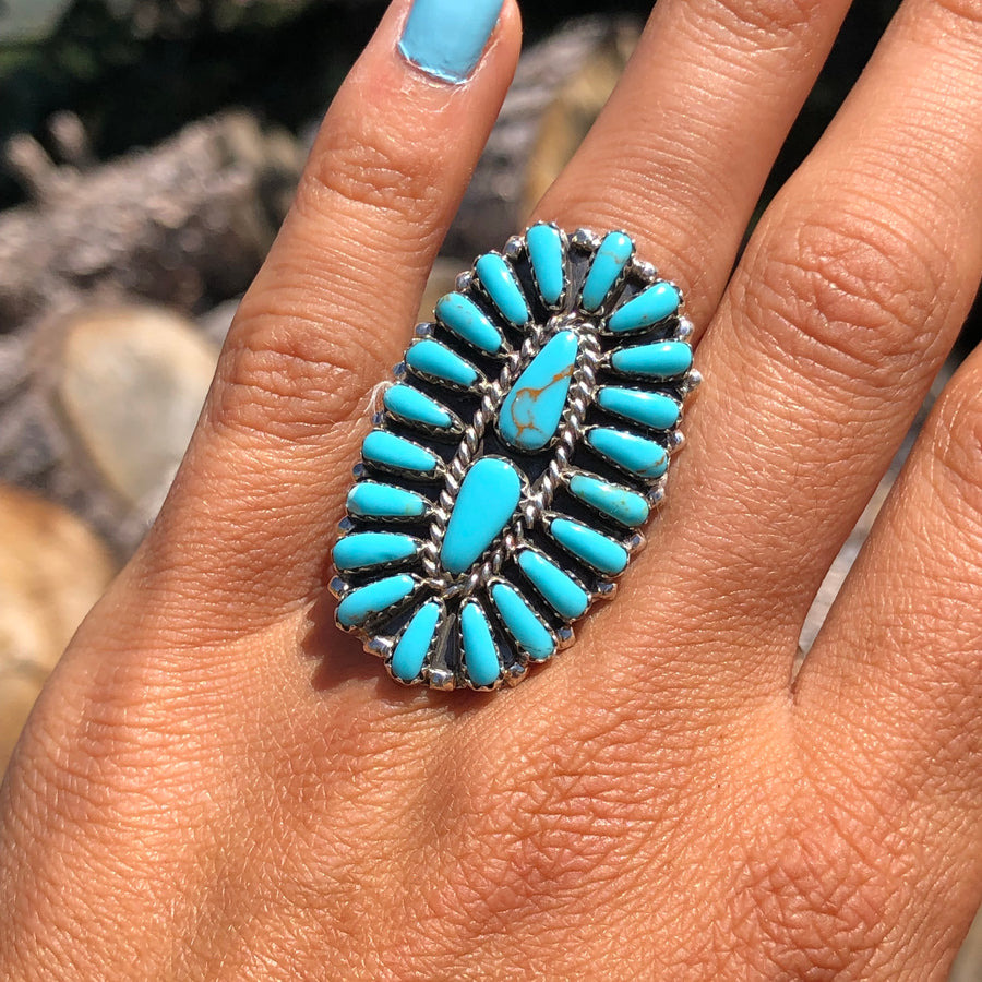 Turquoise Hills Cluster Ring