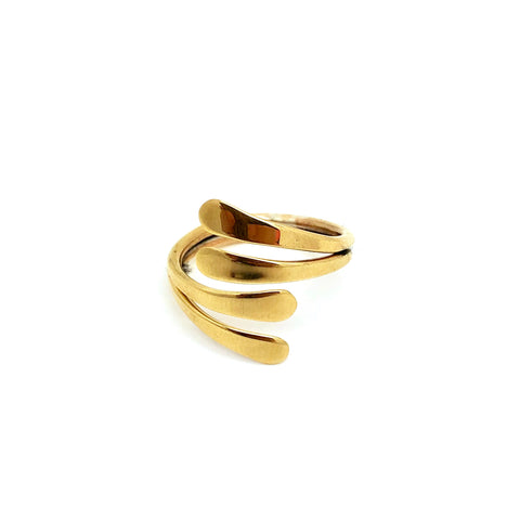 Double Stacked Brass Ring