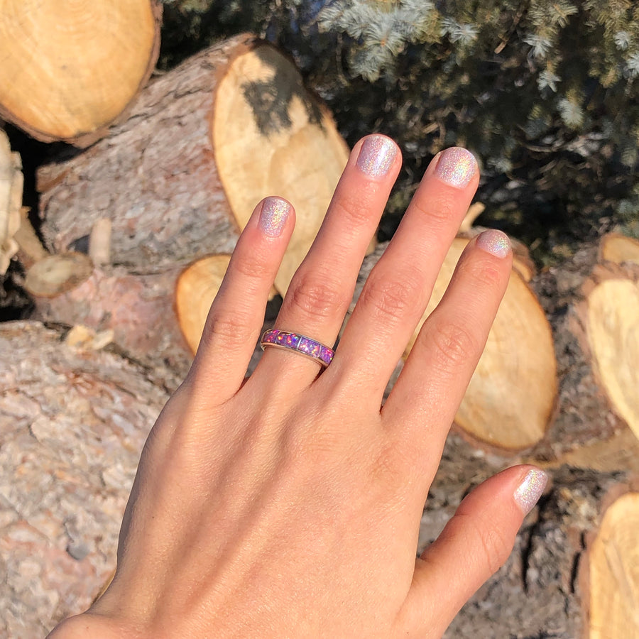 Purple Opal Band