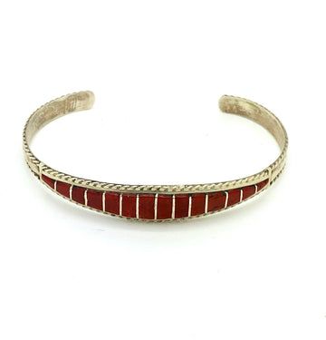Coral Inlay Bracelet