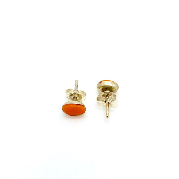 Spiny Oyster Stud Earring