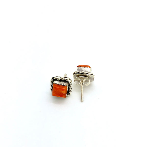 Spiny Oyster Orange Studs