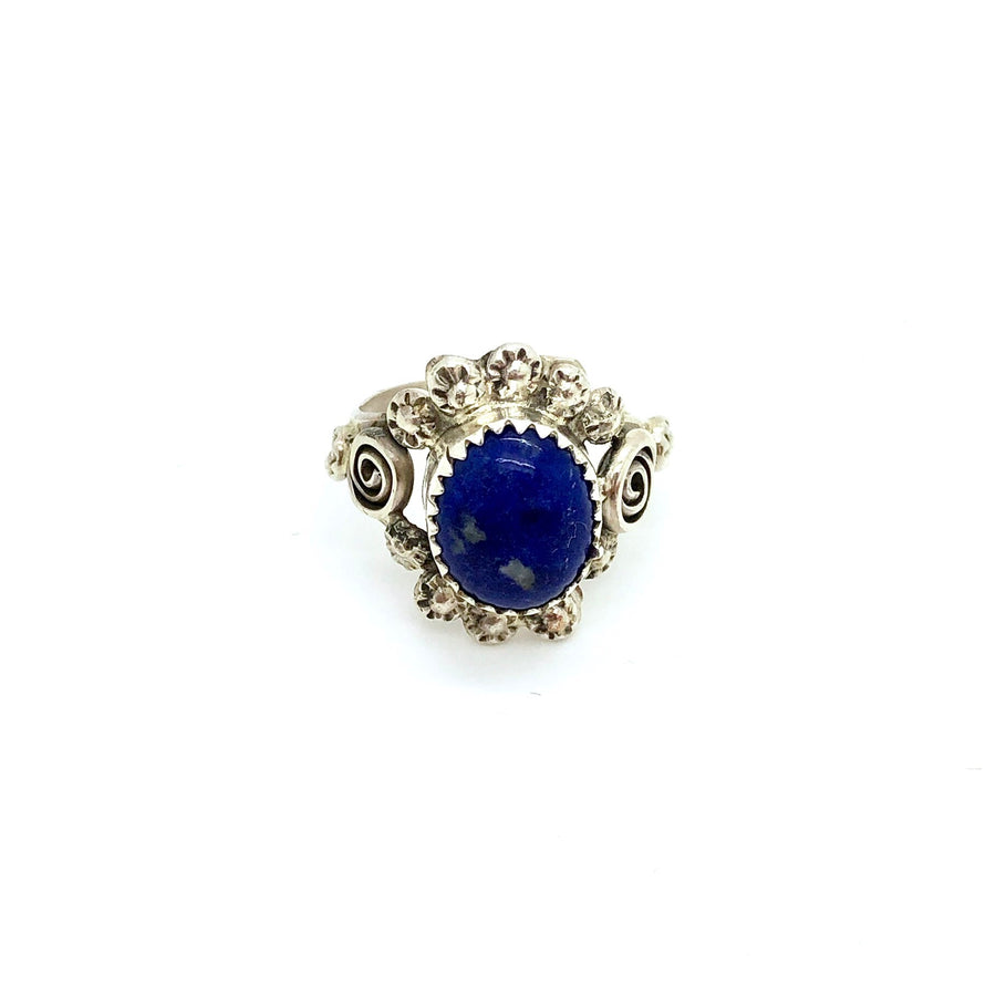 Lapis Star Ring