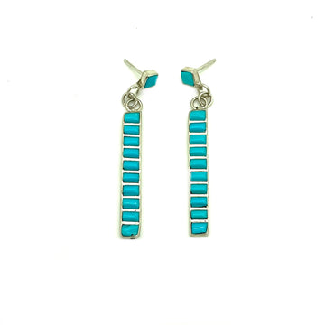 Turquoise Sunrise Earrings