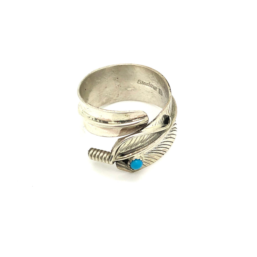 Sterling Feather Dreams Ring
