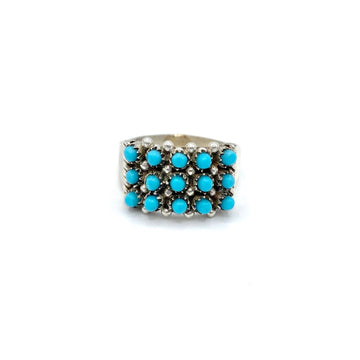 Turquoise Dots Ring