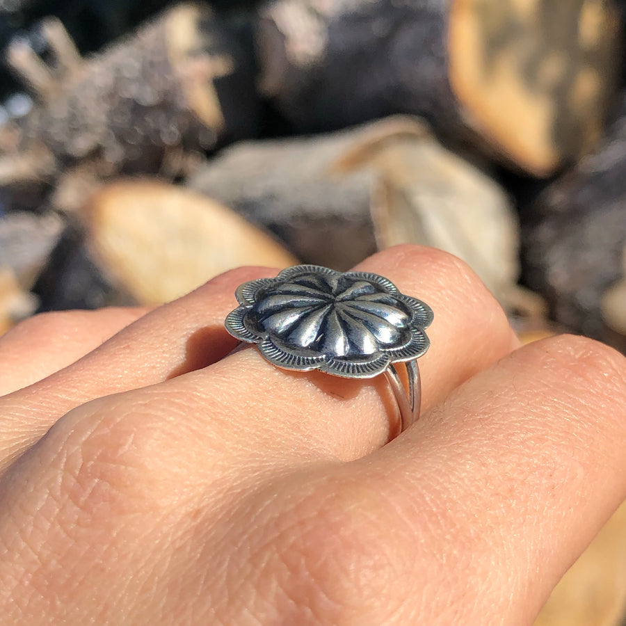 Round Concho Ring