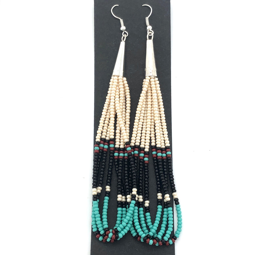 Beaded River Earrings