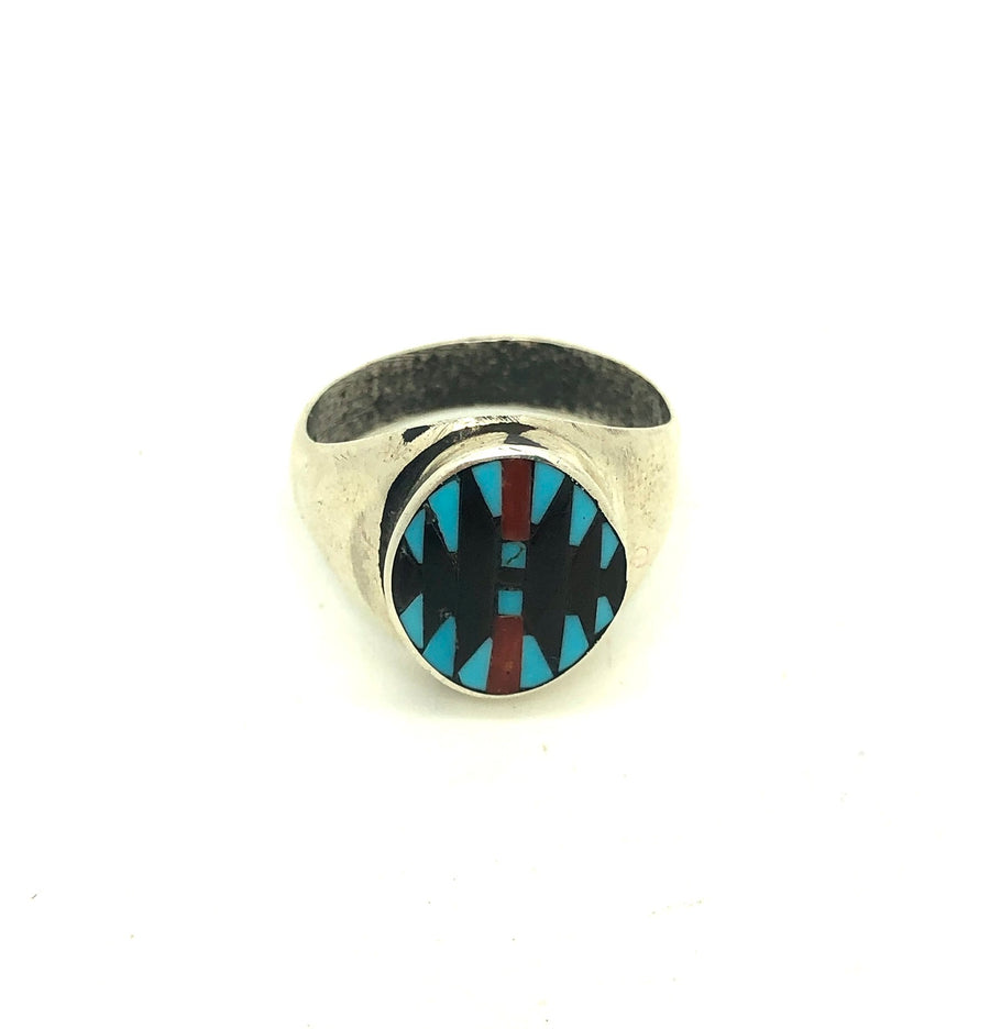 Native Inlay Ring