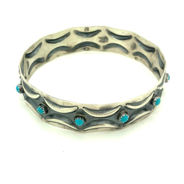 Turquoise Desert Bangle