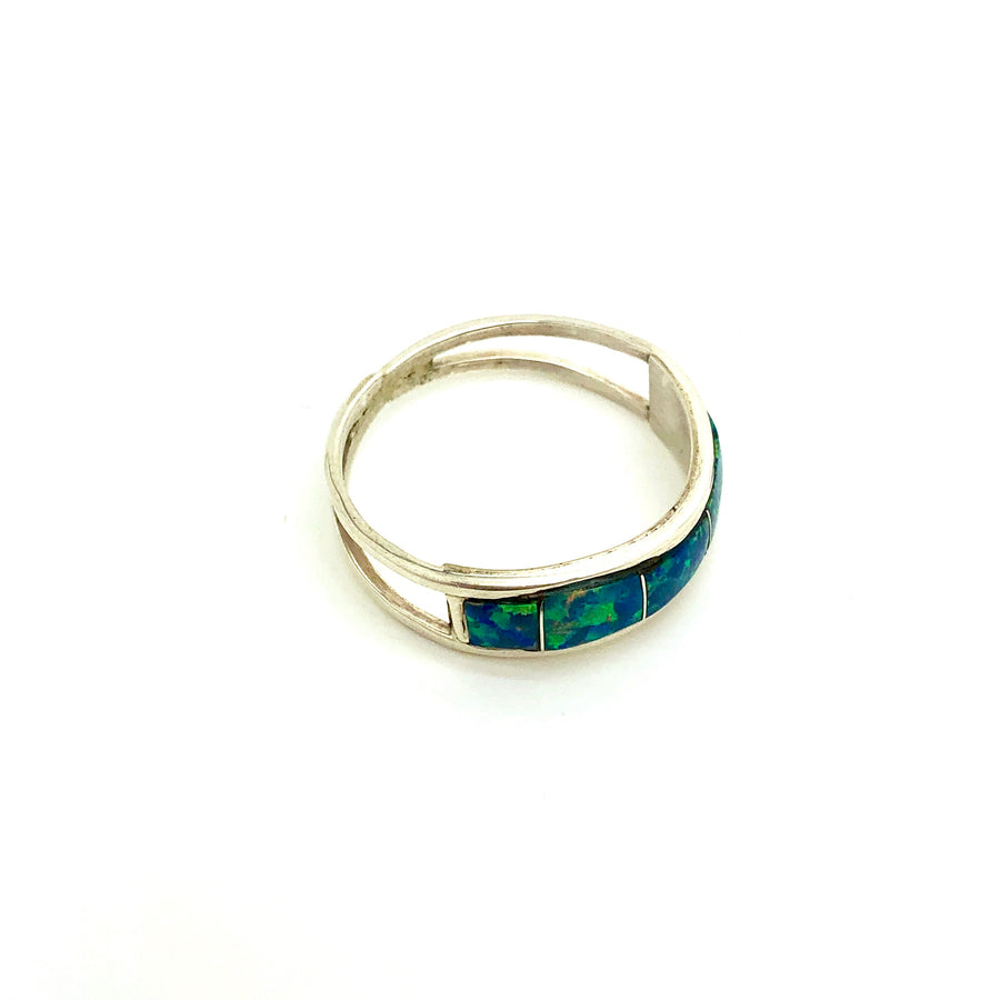 Midnight Blue Opal Band