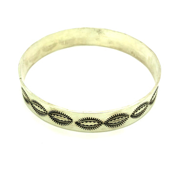Brushed Sun Bangle
