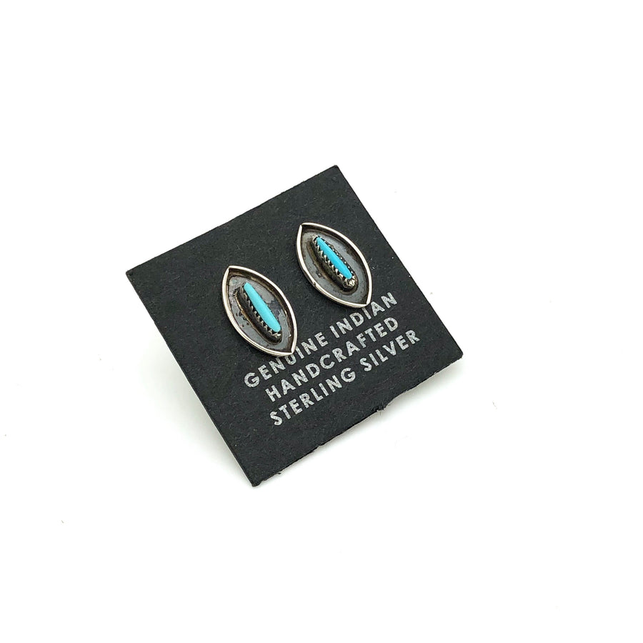 Dainty Turquoise Studs