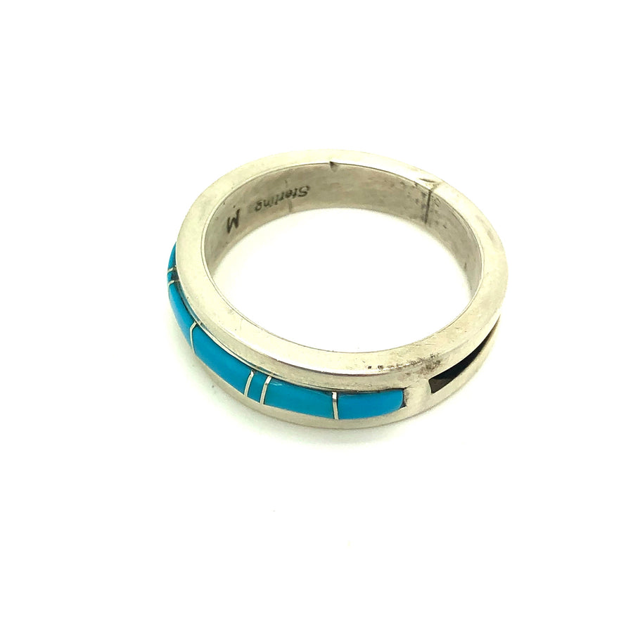 Turquoise Inlay Band