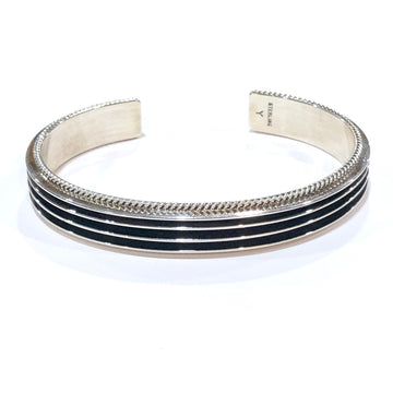 Stacked Sterling Silver Bracelet