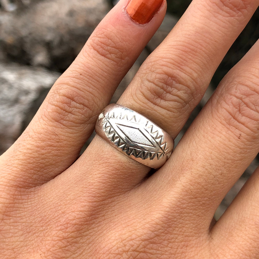 Sterling Wind Ring