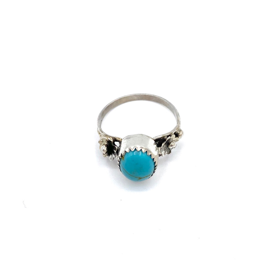 Turquoise Daisy Ring