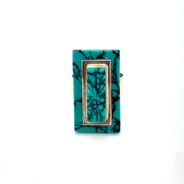 Turquoise Tier Ring