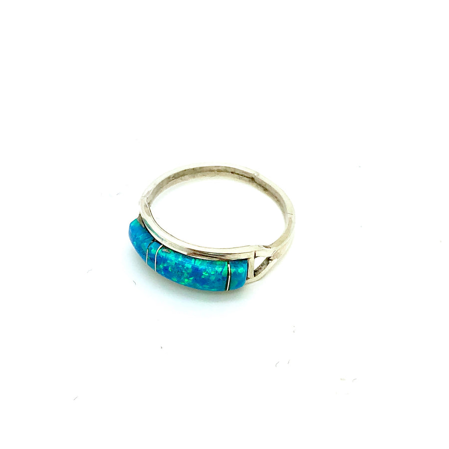 Light Blue Opal Band