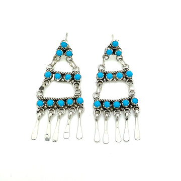Turquoise Arches Earrings