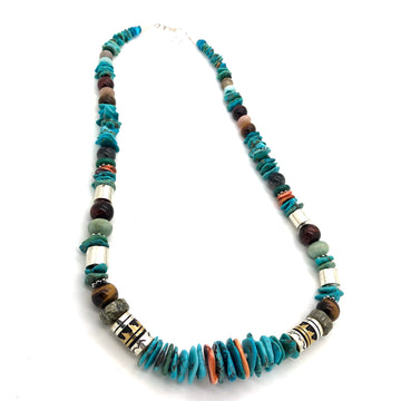 Turquoise Singer Necklace