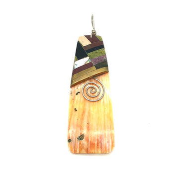 Spiny Oyster Inlay Pendant