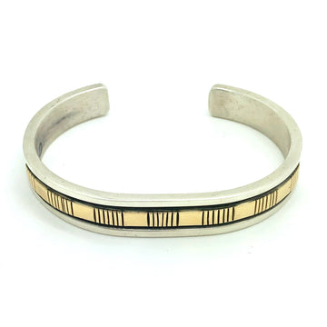 Men's Gold and Sterling Bracelet