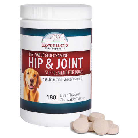 Dog Joint Care Dog Glucosamine Chondroitin For Dogs Lloyd And Lucy S Pet Supplies