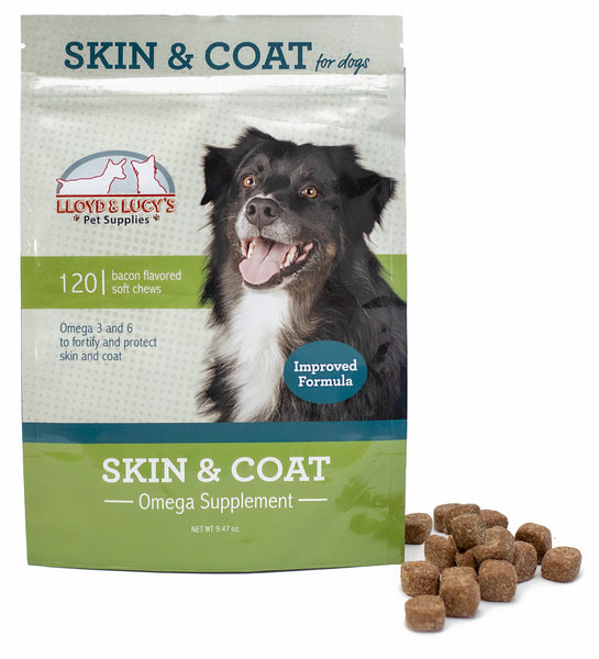 Skin and Coat Soft Chews for Dogs