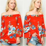 rosario off shoulder top
