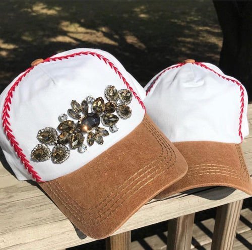 baseball cap (with bling)