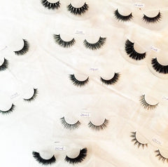How to take the gross out of false lashes.