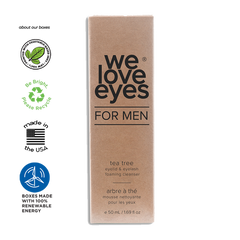 Tea Tree Eyelid Foam Cleanser MEN