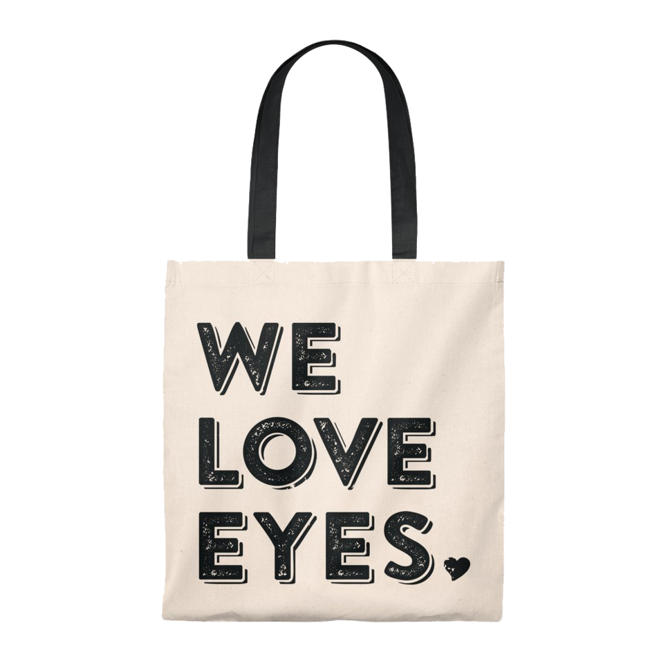 WE LOVE EYES</br> VINTAGE TOTE