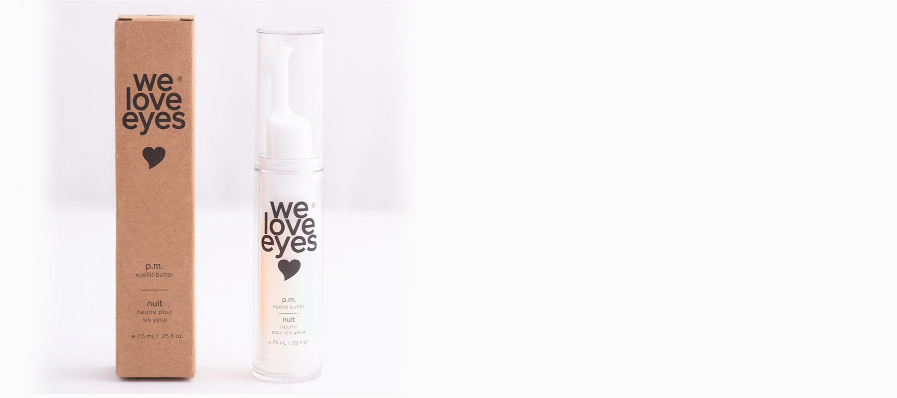 We Love Eyes </br> PM Eyelid Butter