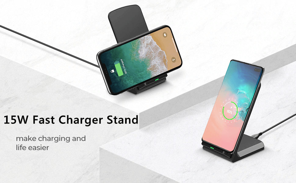 15W Qi fAST Wireless Charger for iPhone 11 X XS 8 XR Pro Samsung S9 S10 S8 Pic1