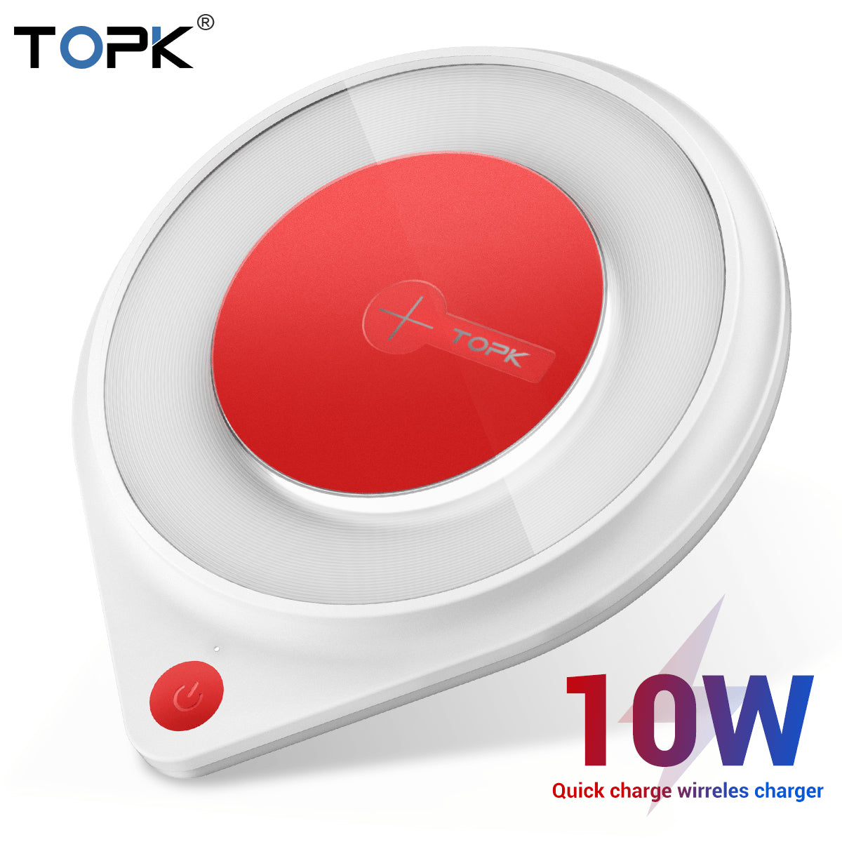 Fast Wireless Charger 10W for iPhone 11 XR X Max Pro 8 Plus Samsung S10 S9 S8 Pic1