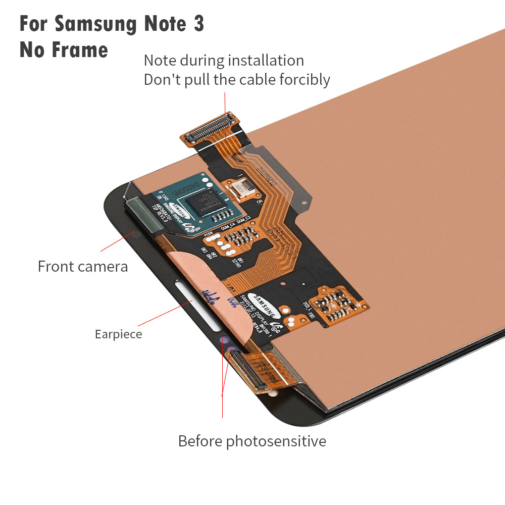 LCD Touch Screen Digitizer Display for Samsung Galaxy Note 3 SM-N900W8 SM-N900F Pic3