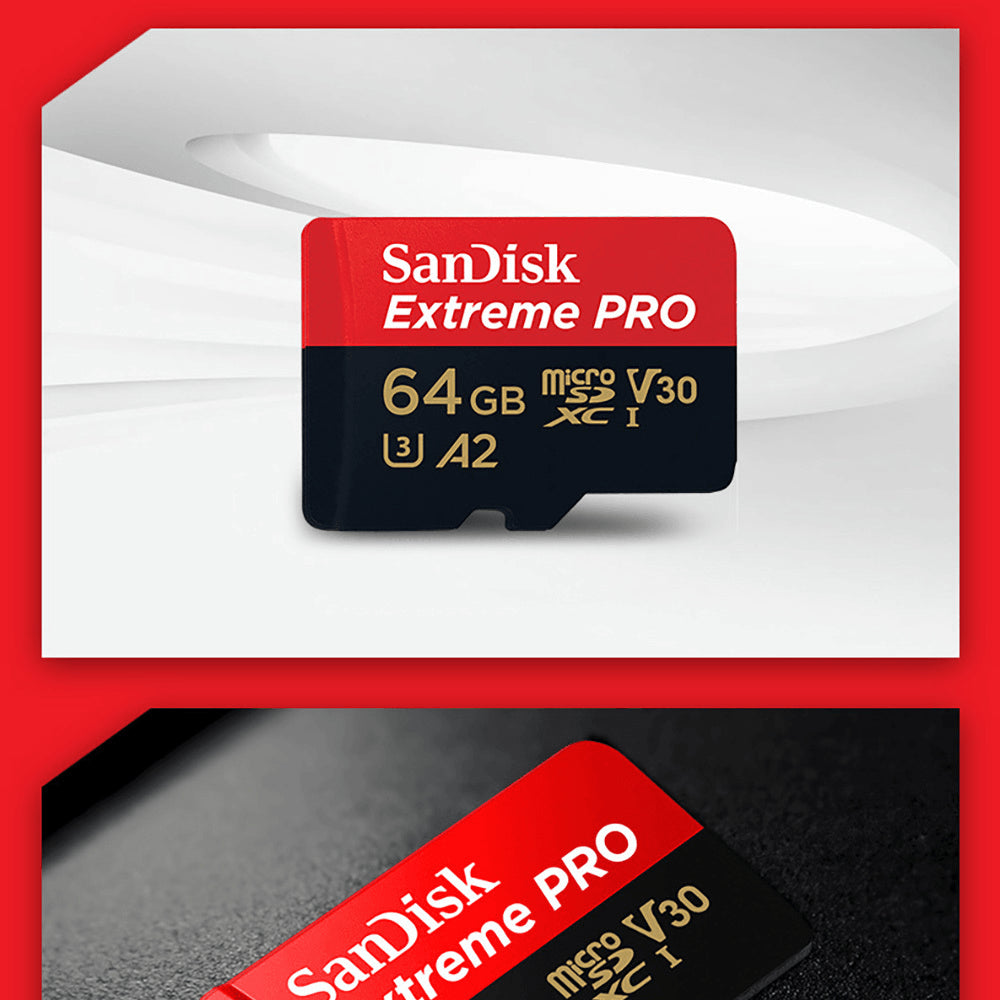 Sandisk Micro SD Extreme Pro Memory Card High Speed 32GB 64GB 128GB 256GB 400GB Pic3
