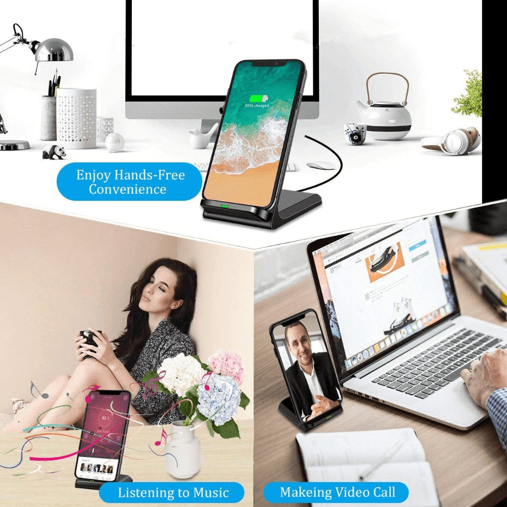 15W Qi fAST Wireless Charger for iPhone 11 X XS 8 XR Pro Samsung S9 S10 S8 Pic7