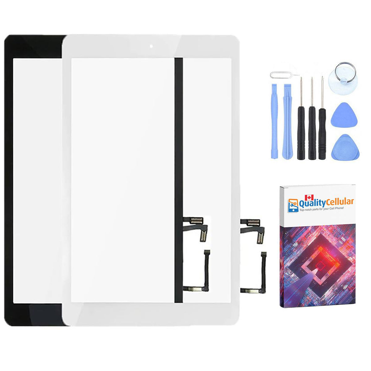 Apple iPad Air 1 A1474 A1475 iPad 5 Touch Screen Front Glass Display Digitizer Main