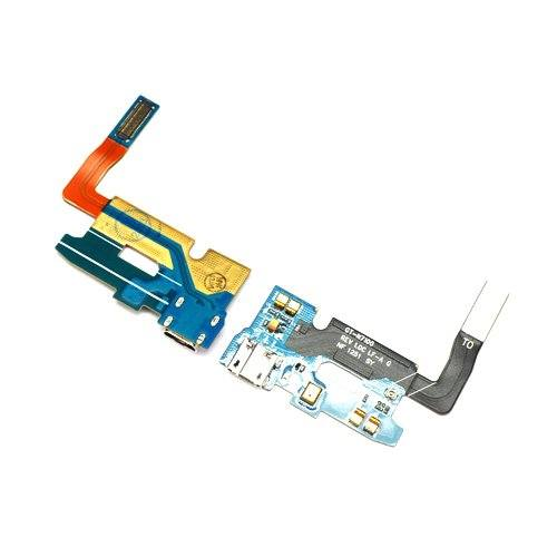 Charging port flex cable and microphone for Samsung Galaxy Note 2 II GT-N7100 Pic2