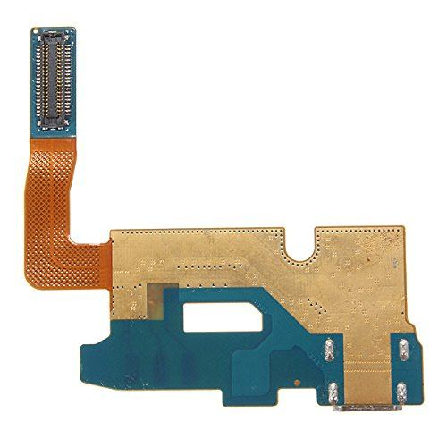 Charging port flex cable and microphone for Samsung Galaxy Note 2 II SGH-i317 Pic1