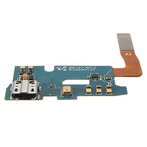 Charging port flex cable and microphone for Samsung Galaxy Note 2 II SGH-i317 Pic4