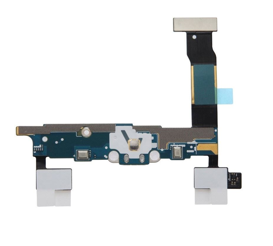 Charging port flex cable and microphone for Samsung Galaxy Note 4 SM-N9100 Pic1