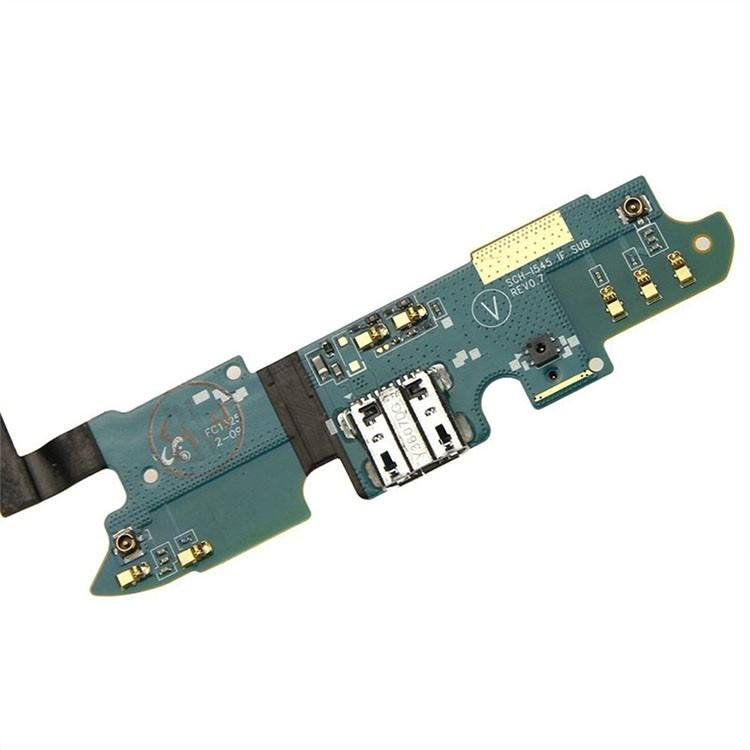 Charging port flex cable with microphone for Samsung Galaxy S4 SCH-i545 Pic2